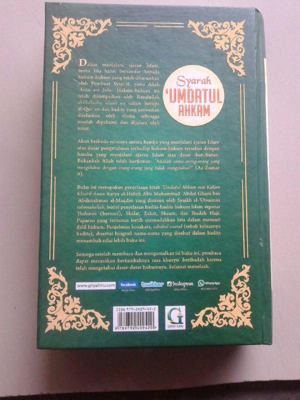 Buku Penjelasan Hadits-Hadits Hukum cover 2