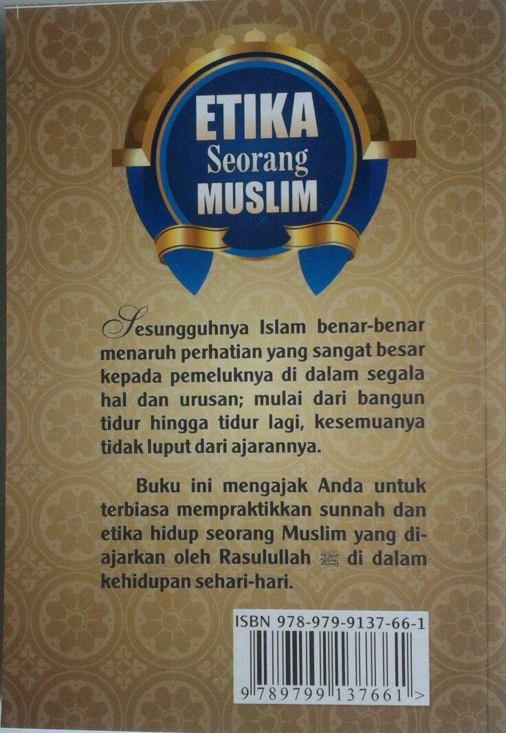 Buku Saku Etika Seorang Muslim cover