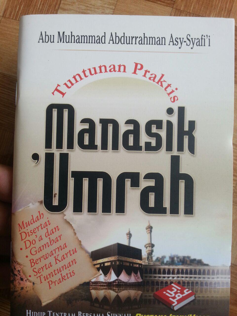 Buku Saku Tuntunan Manasik Umrah cover 2