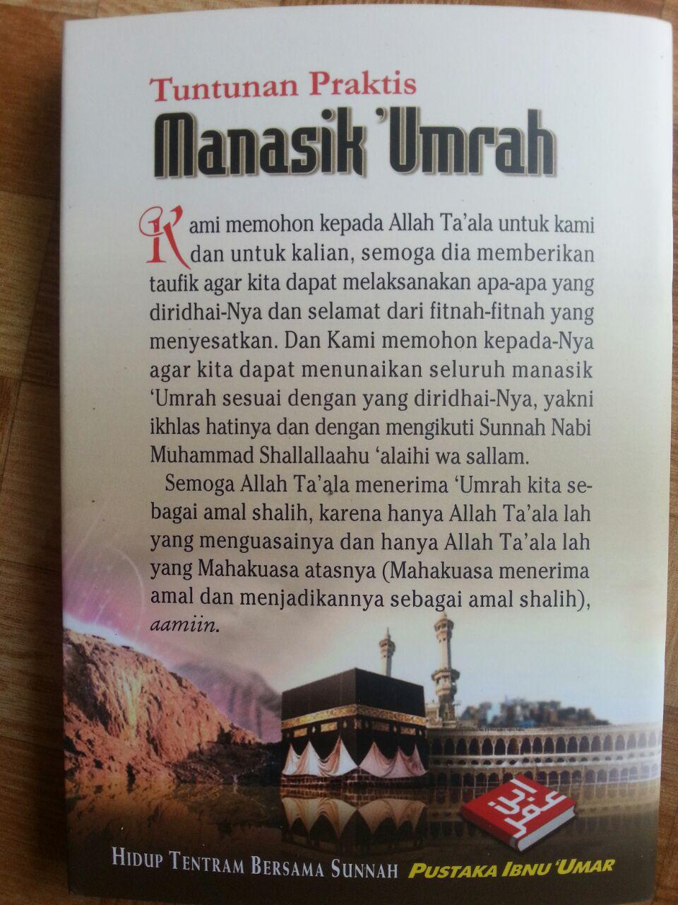 Buku Saku Tuntunan Manasik Umrah cover