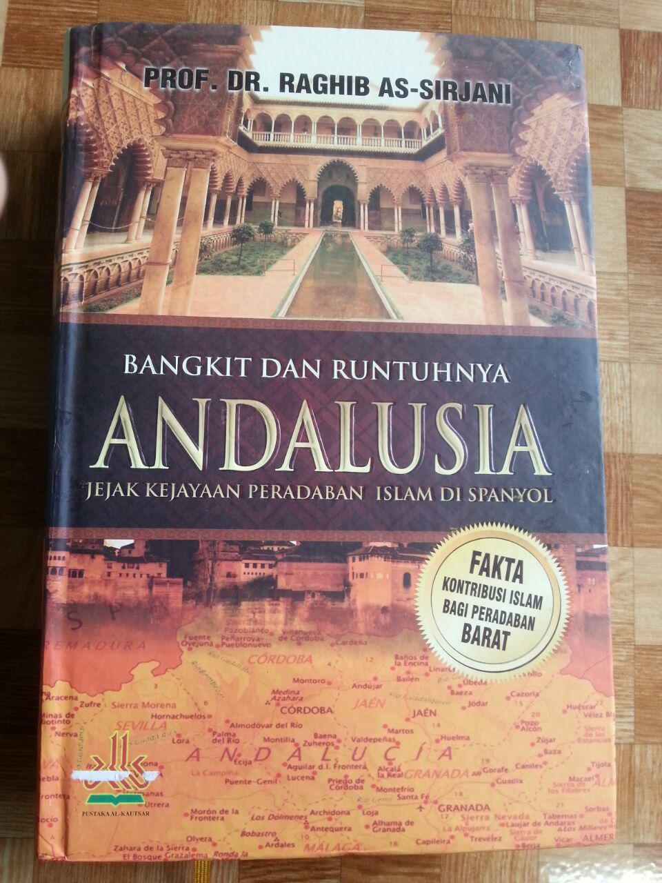 Buku Bangkit Dan Runtuhnya Andalusia cover 2