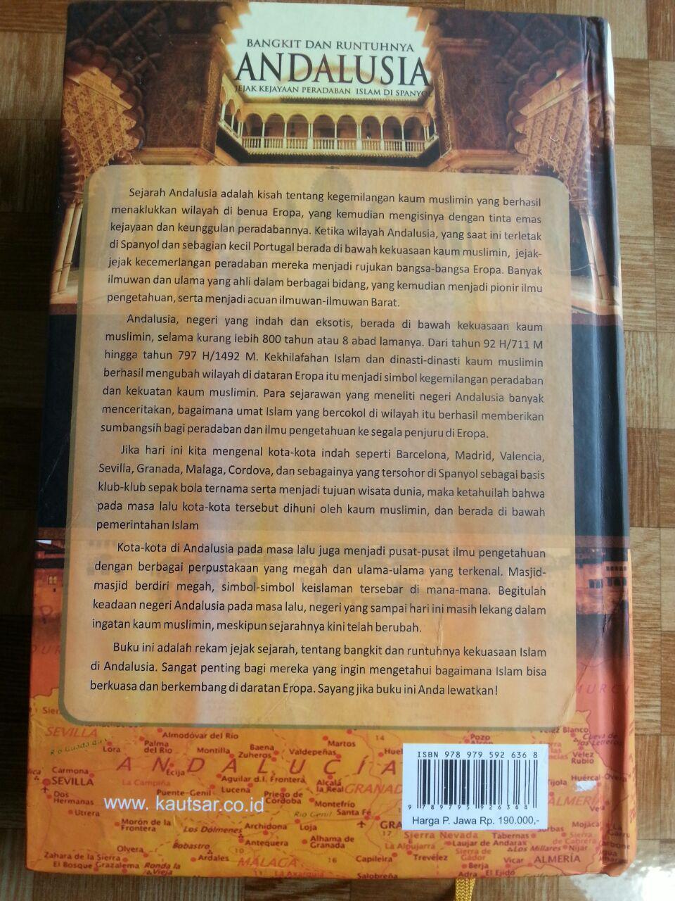 Buku Bangkit Dan Runtuhnya Andalusia cover