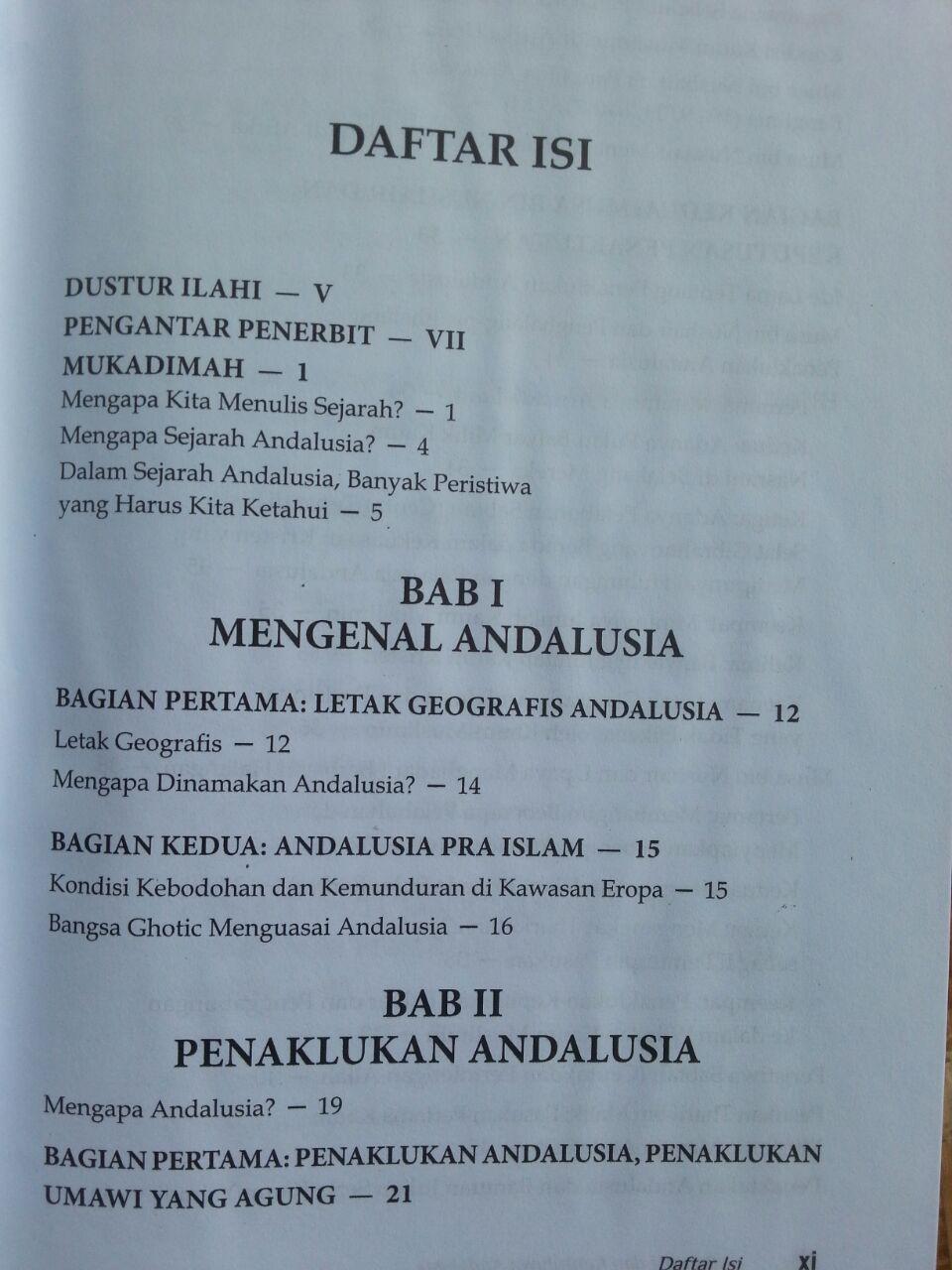 Buku Bangkit Dan Runtuhnya Andalusia isi 2