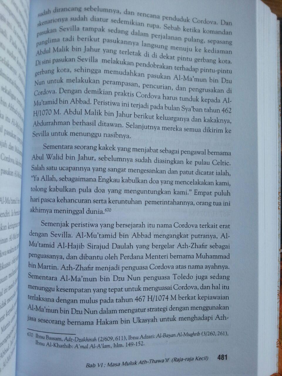 Buku Bangkit Dan Runtuhnya Andalusia isi 4