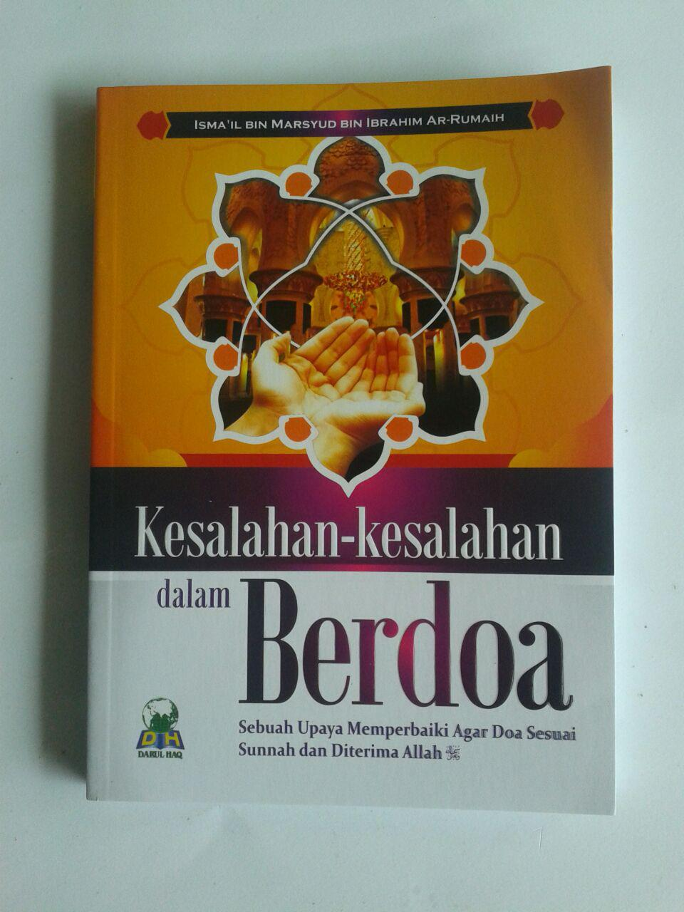 Buku Kesalahan Kesalahan Dalam Berdoa cover 2