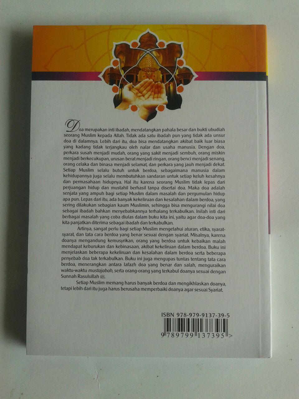Buku Kesalahan Kesalahan Dalam Berdoa cover