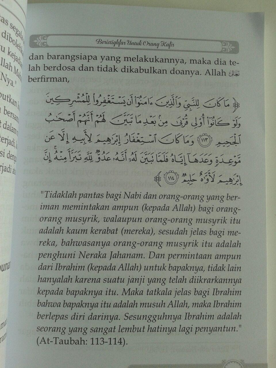 Buku Kesalahan Kesalahan Dalam Berdoa isi 3