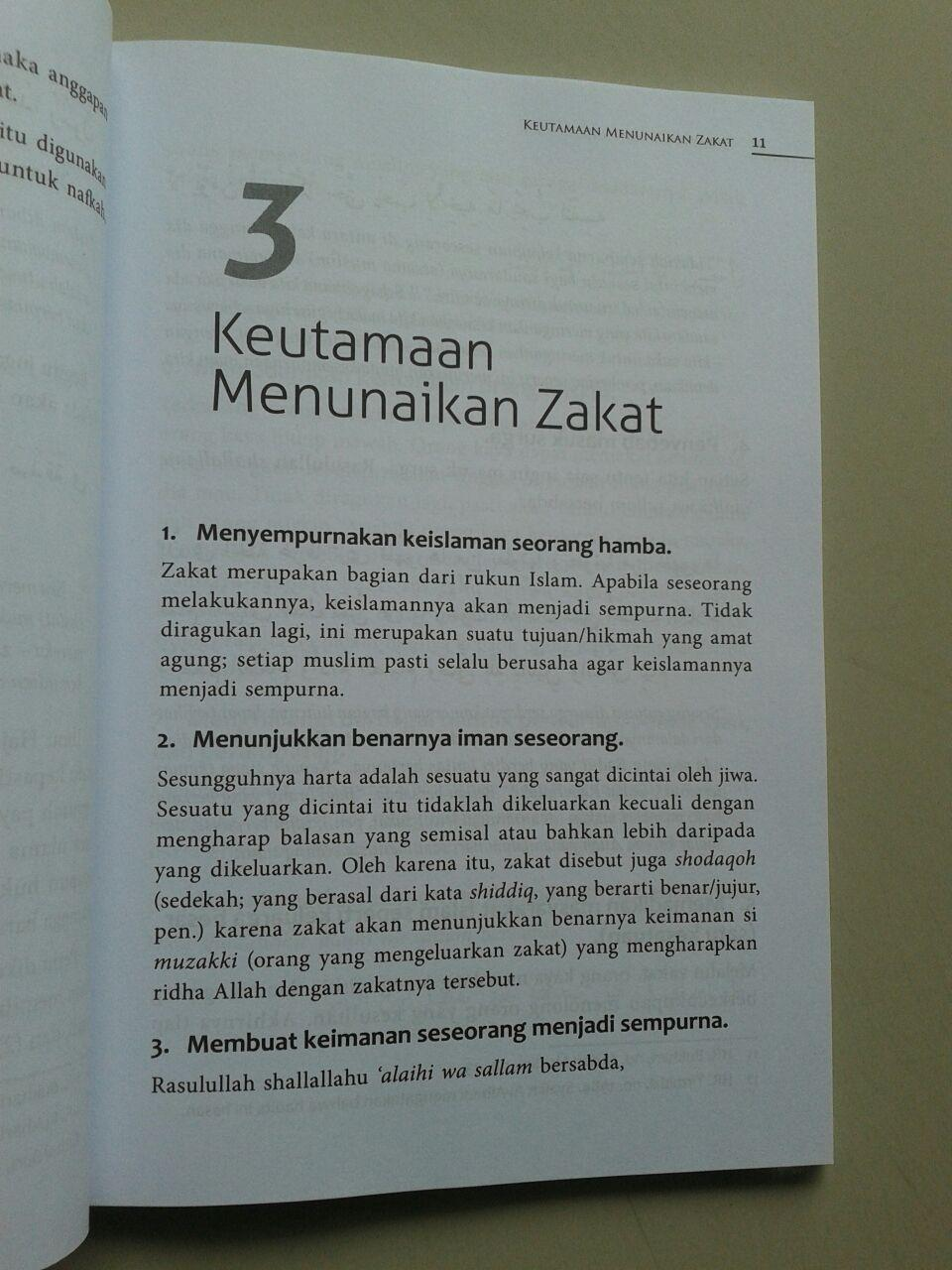 Buku Panduan Mudah Tentang Zakat isi 2