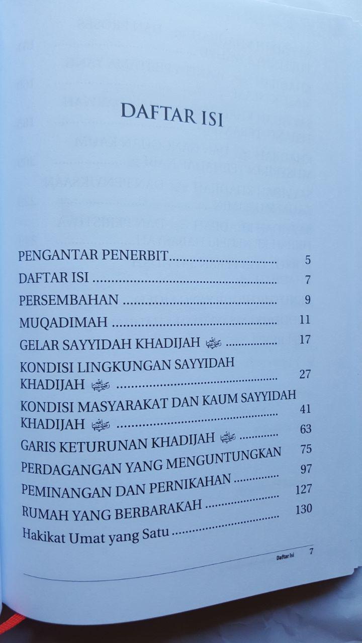Buku Khadijah Teladan Agung Wanita Mukminah isi 2