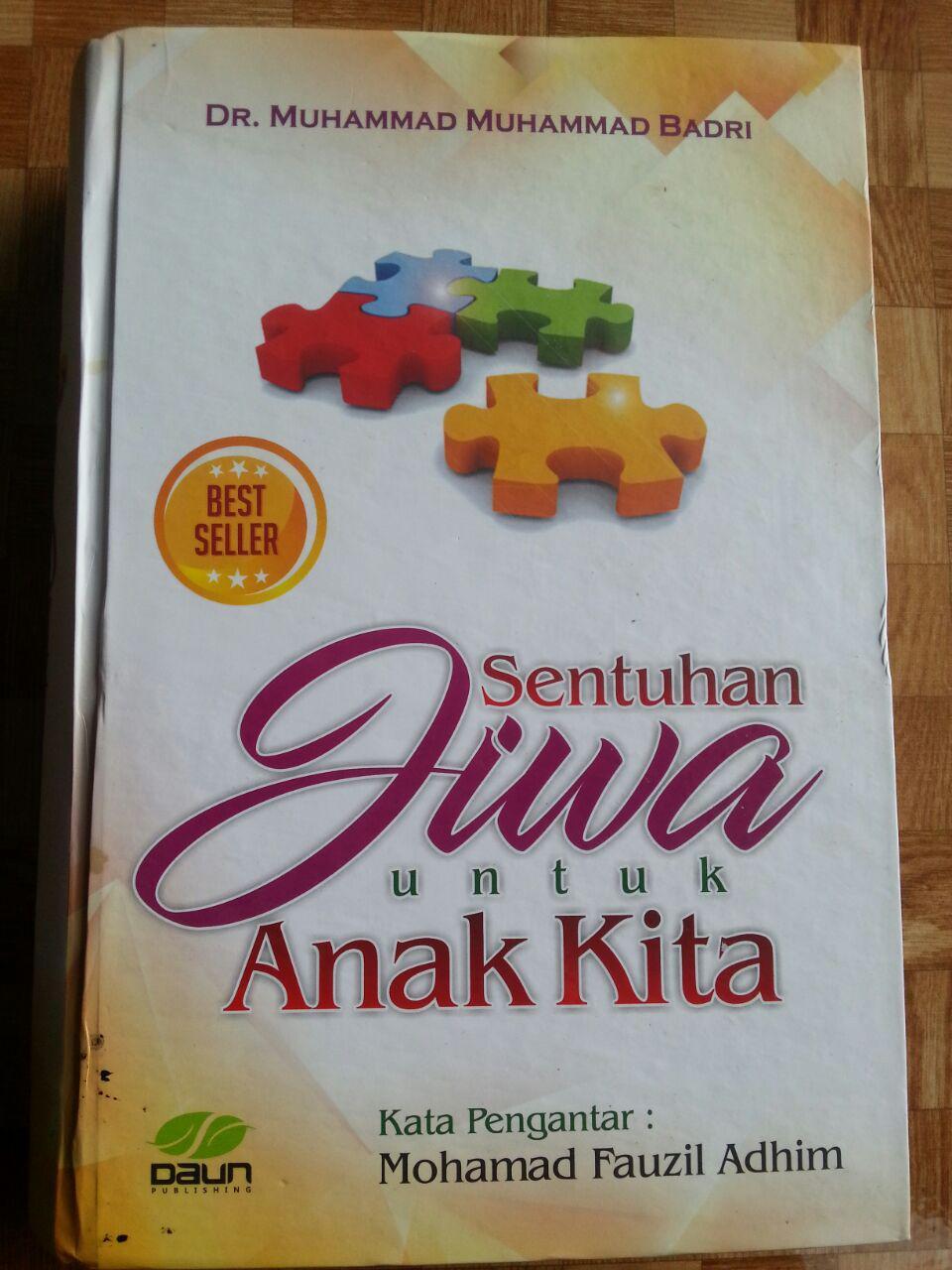 Buku Sentuhan Jiwa Untuk Anak Kita cover 2