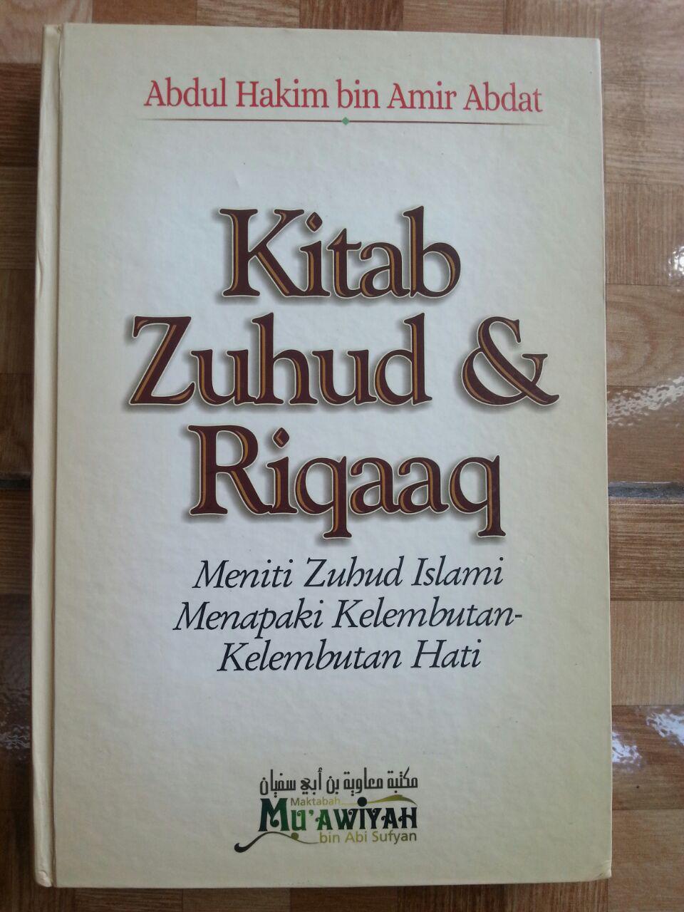 Buku Kitab Zuhud Dan Riqaa-iq cover 2