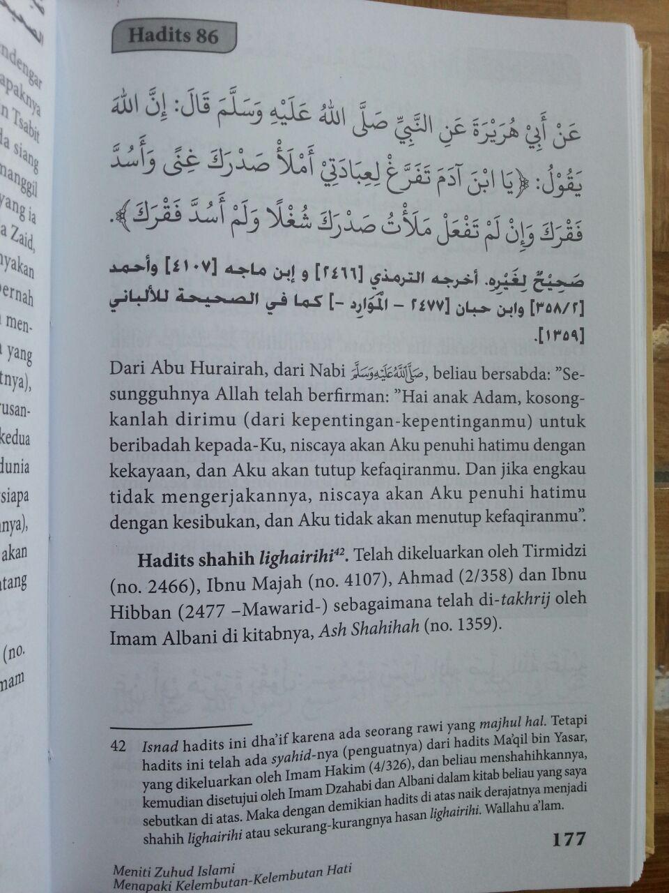 Buku Kitab Zuhud Dan Riqaa-iq isi 3