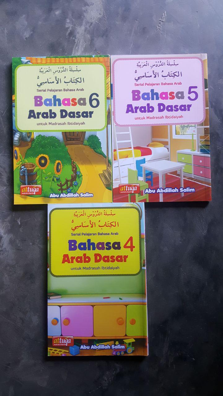 Buku Bahasa Arab Dasar Untuk Madrasah Ibtidaiyah 6 Jilid cover