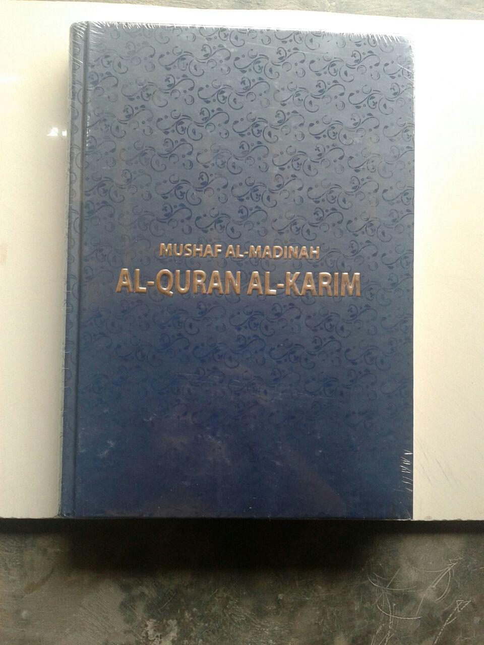 Al-Qur'an Mushaf Al-Madinah Ukuran B5 cover 2