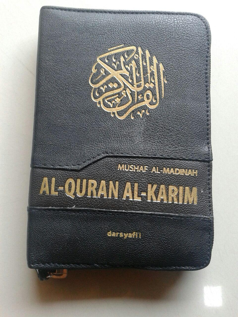Al-Qur'an Mushaf Al-Madinah Resleting Ukuran A6 cover