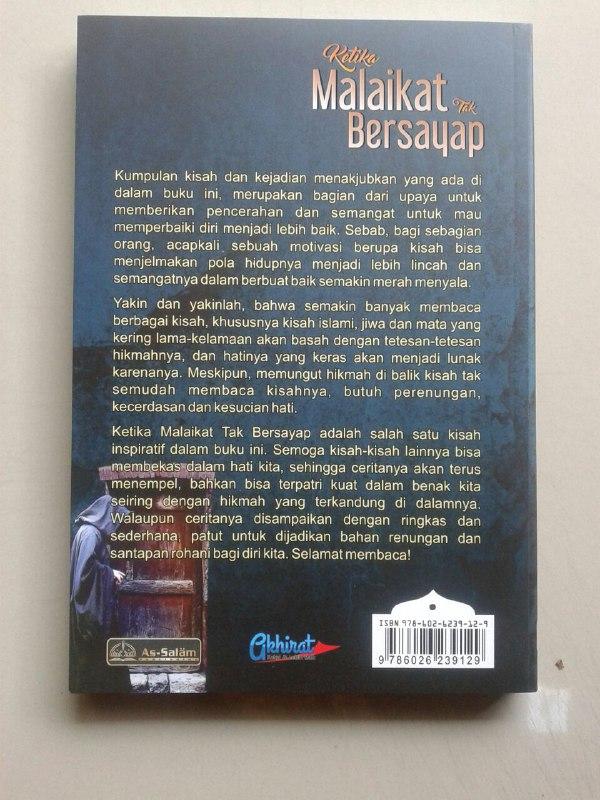 Buku Ketika Malaikat Tak Bersayap 78 Kisah Penuh Hikmah cover 2