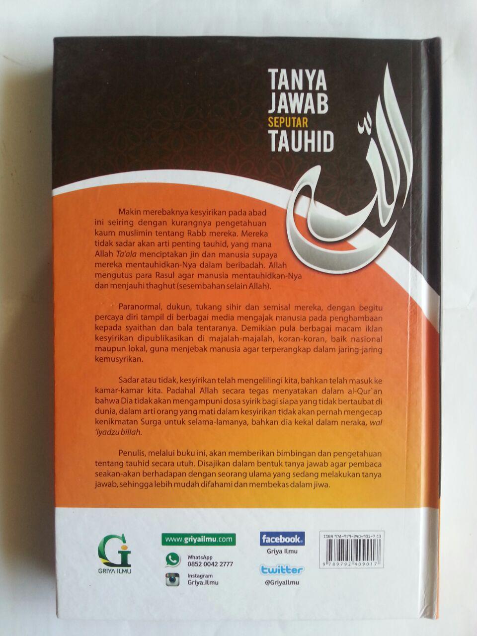 Buku Tanya Jawab Seputar Tauhid cover