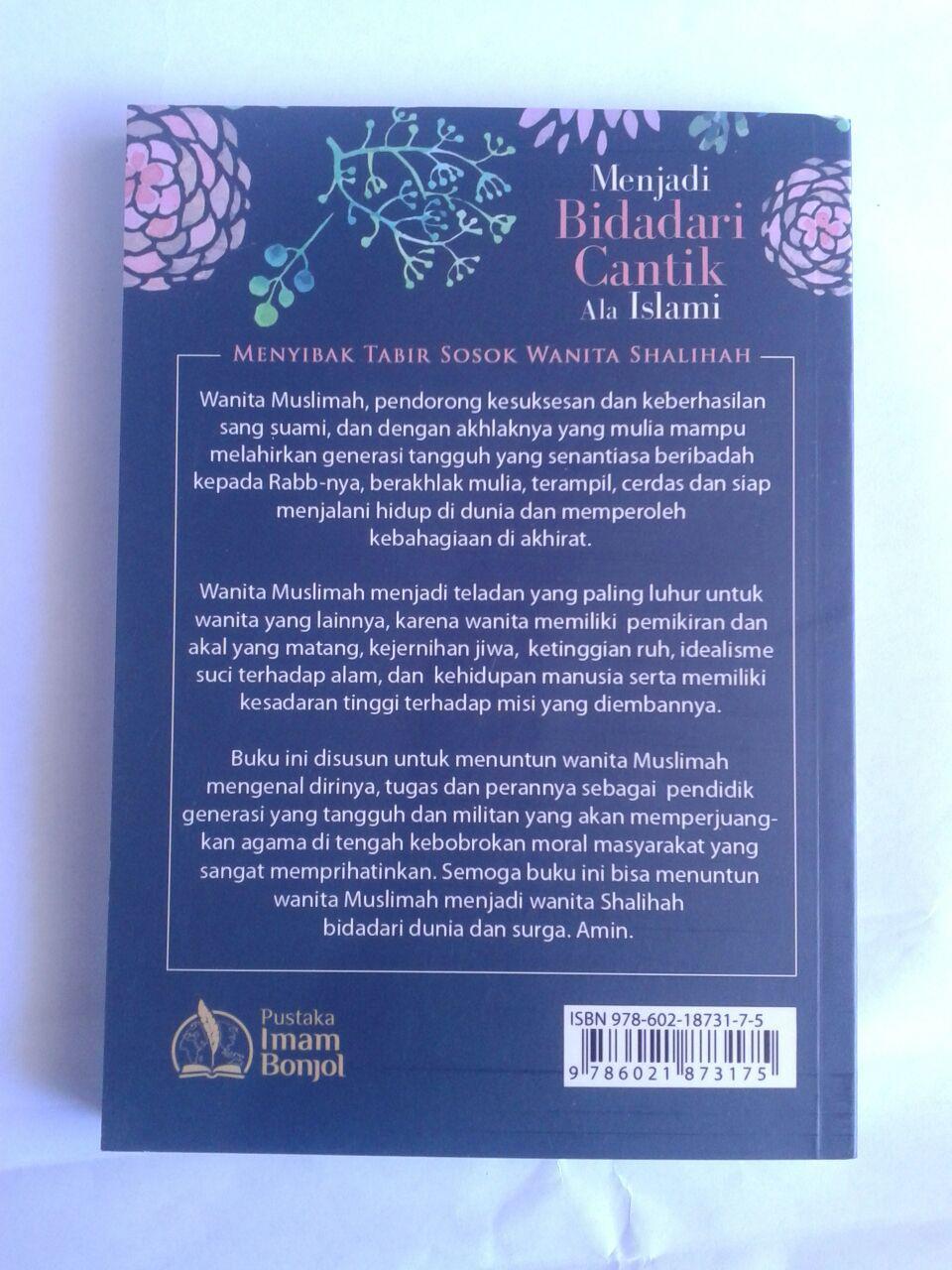 Buku Menjadi Bidadari Cantik Ala Islami Sosok Wanita Shalihah cover