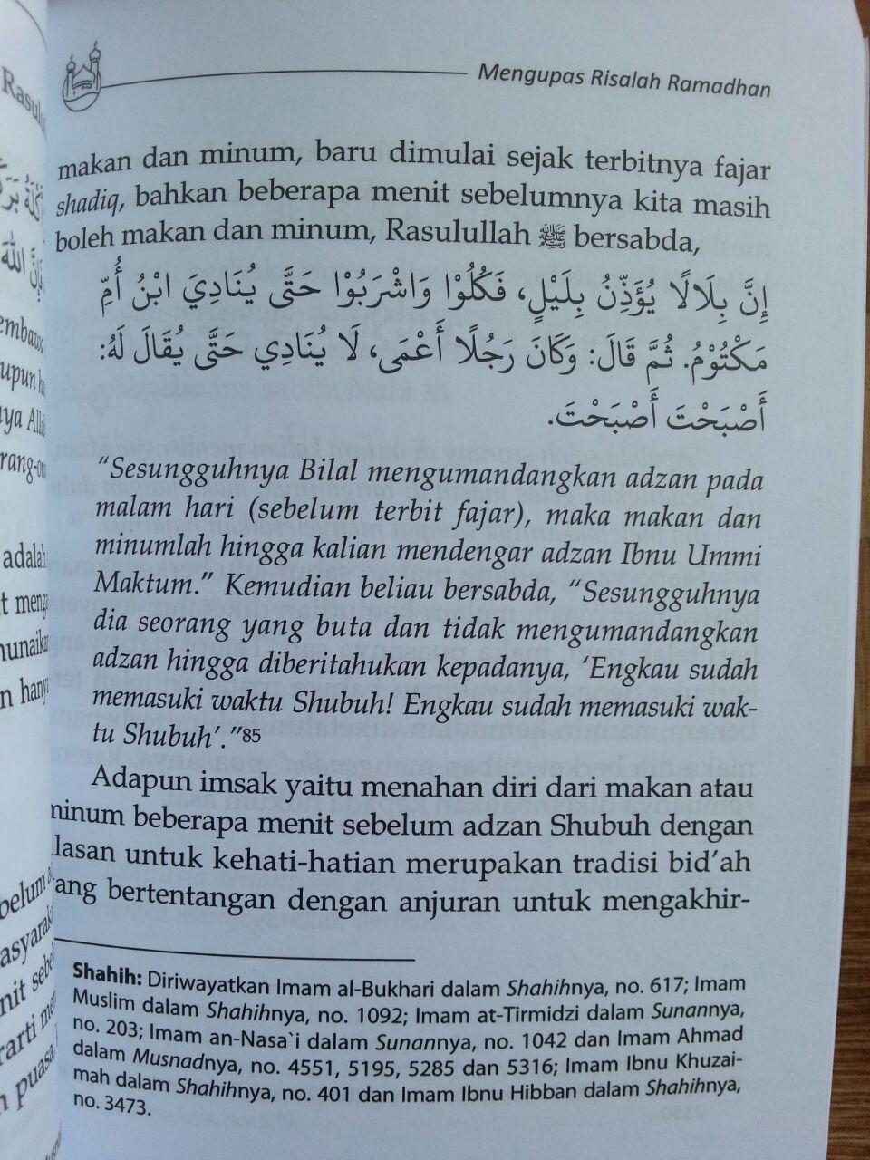 Buku Ritual Ramadhan Antara Adat Dan Syariat isi 3