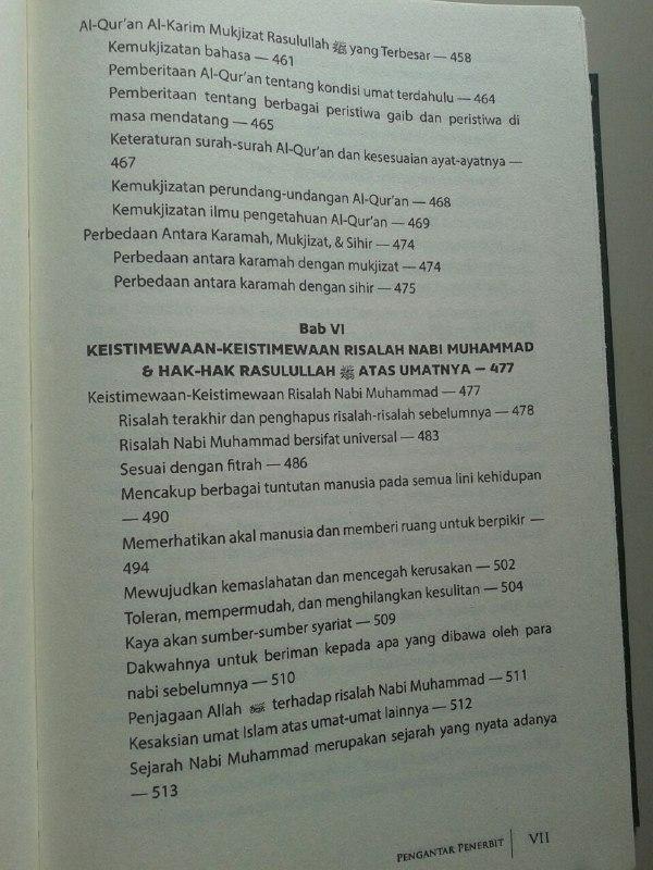 Buku Iman Kepada Rasul isi 2
