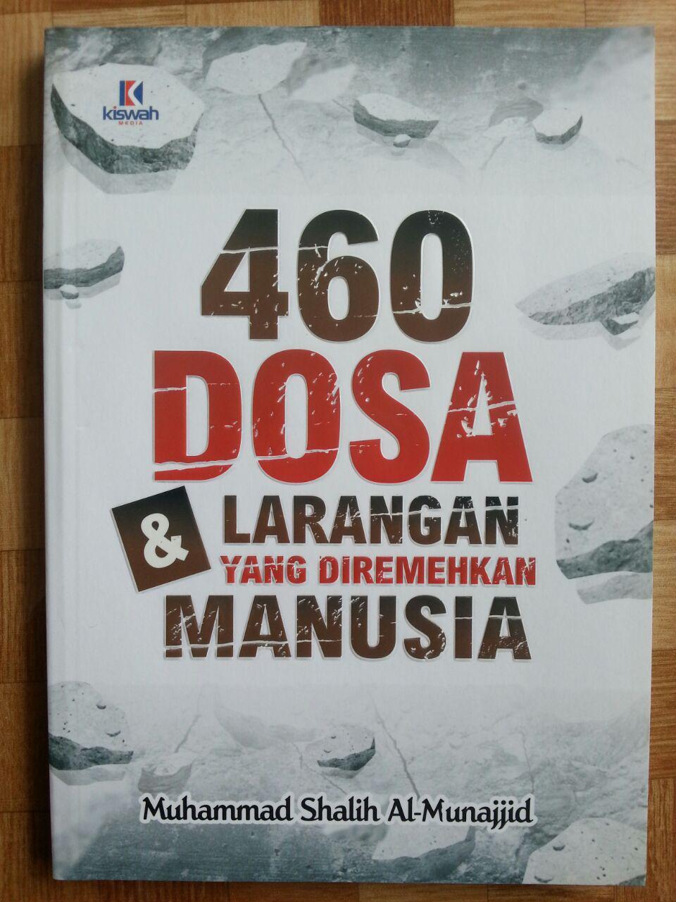 Buku Dosa Dosa Yang Diremehkan Manusia Ensiklopedi 460 Dosa & Larangan cover 2