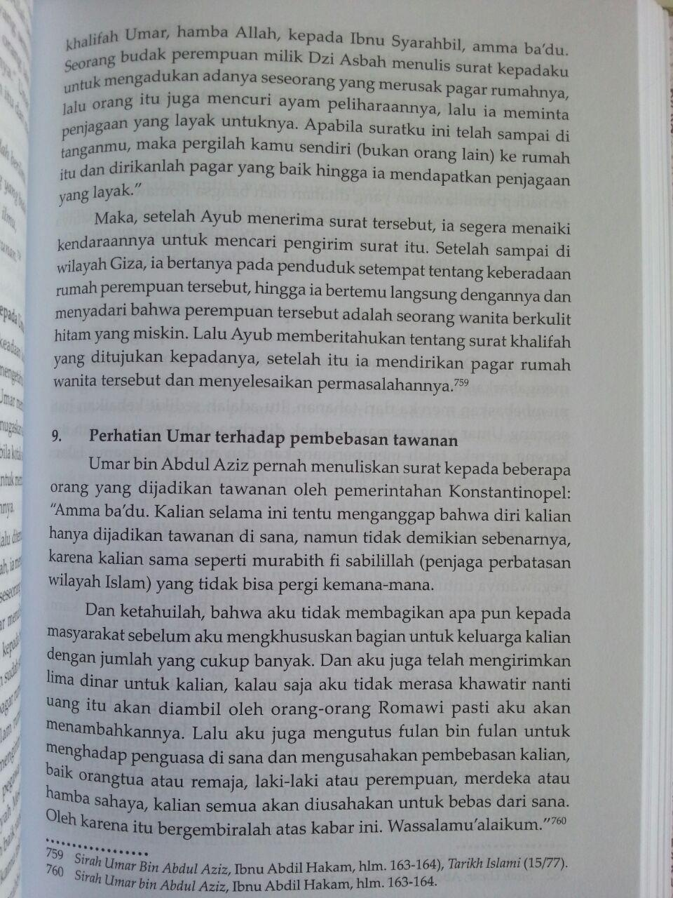 Buku Umar bin Abdul Aziz Khalifah Pembaru Dari Bani Umayyah isi 3
