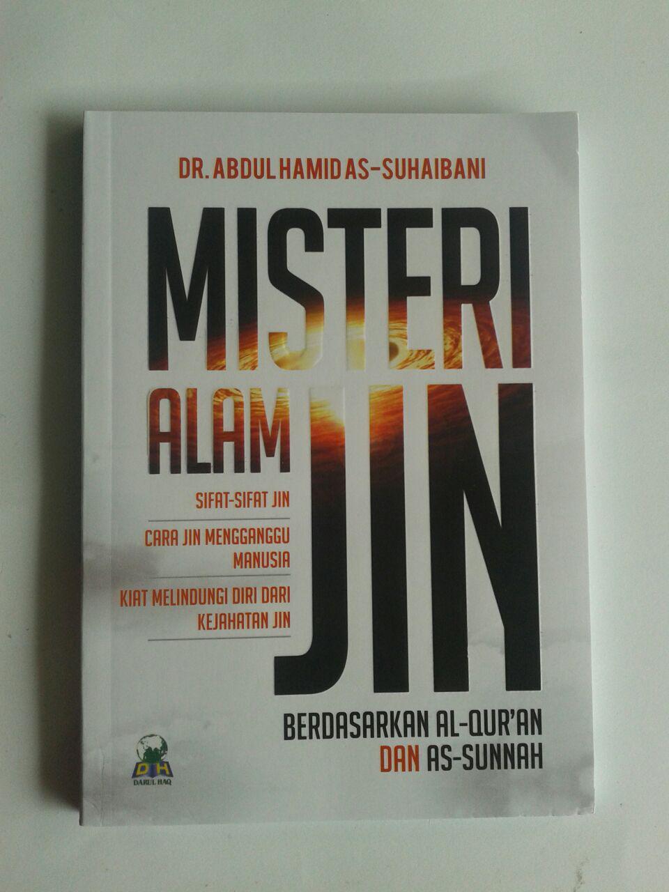 Buku Misteri Alam Jin Berdasarkan Al-Quran dan As-Sunnah cover 2