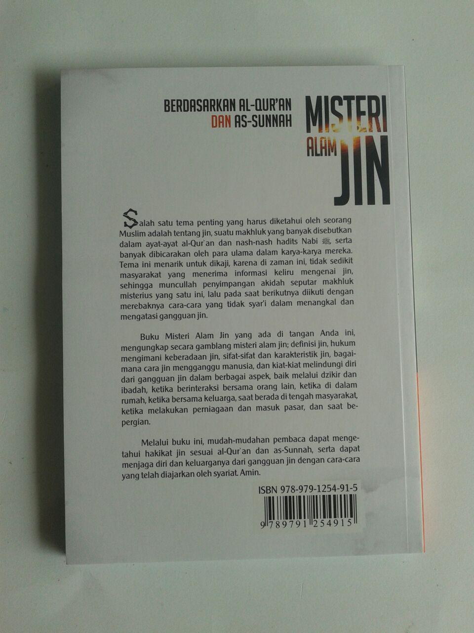 Buku Misteri Alam Jin Berdasarkan Al-Quran dan As-Sunnah cover