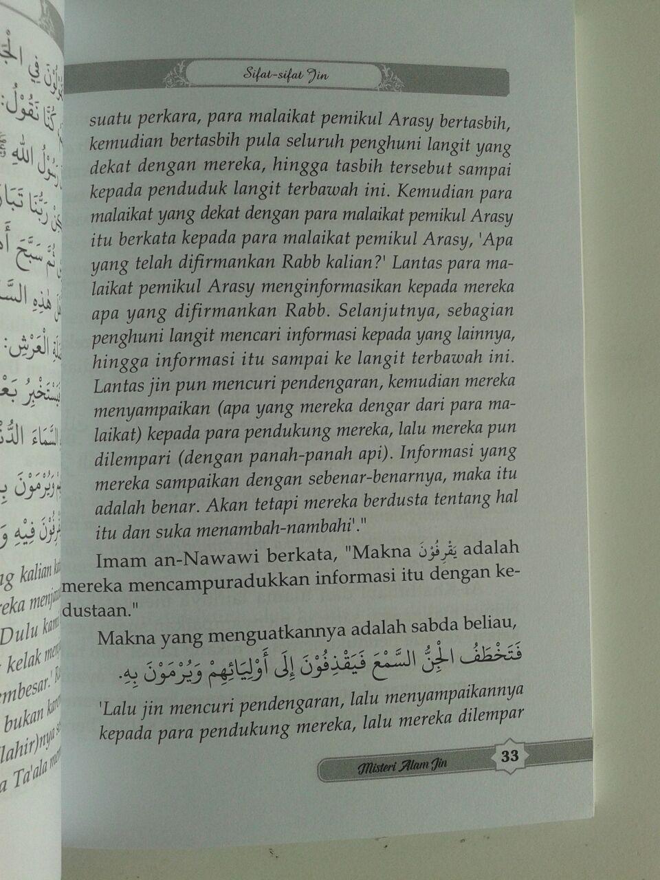 Buku Misteri Alam Jin Berdasarkan Al-Quran dan As-Sunnah isi 3