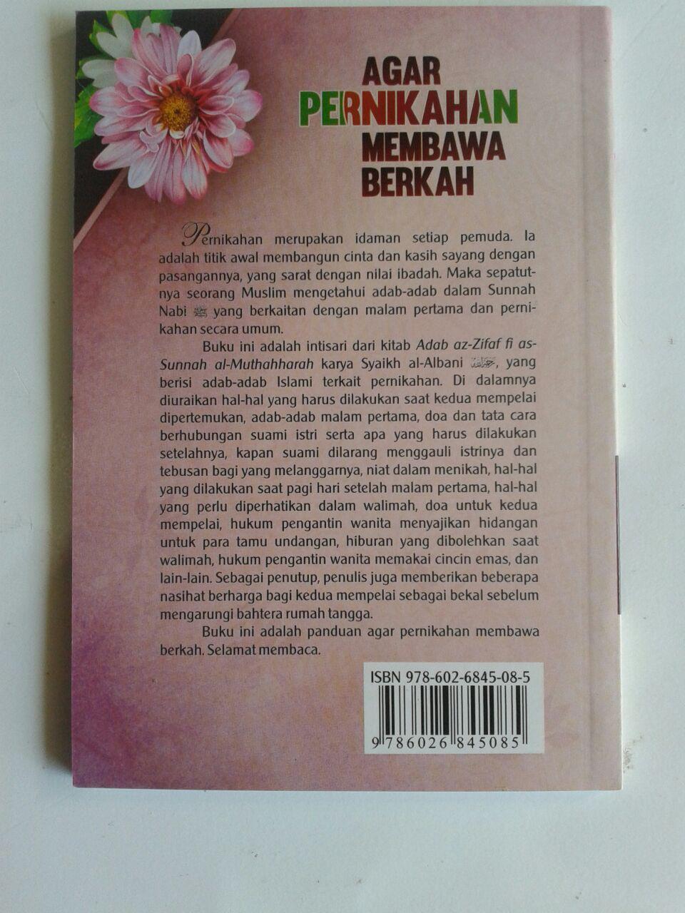 BK2023 Buku Saku Agar Pernikahan Membawa Berkah 7,000 15% 5,950 cover