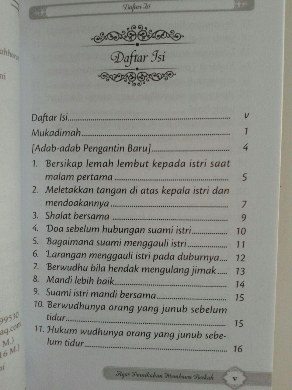 Buku Saku Agar Pernikahan Membawa Berkah 7,000 15% 5,950 isi