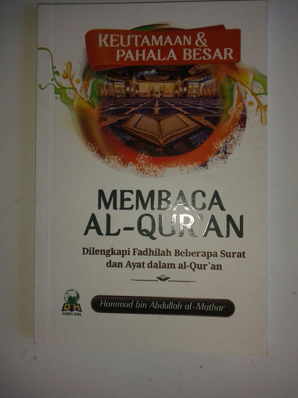 Buku Saku Keutamaan Dan Pahala Besar Membaca Al-Qur'an cover 2