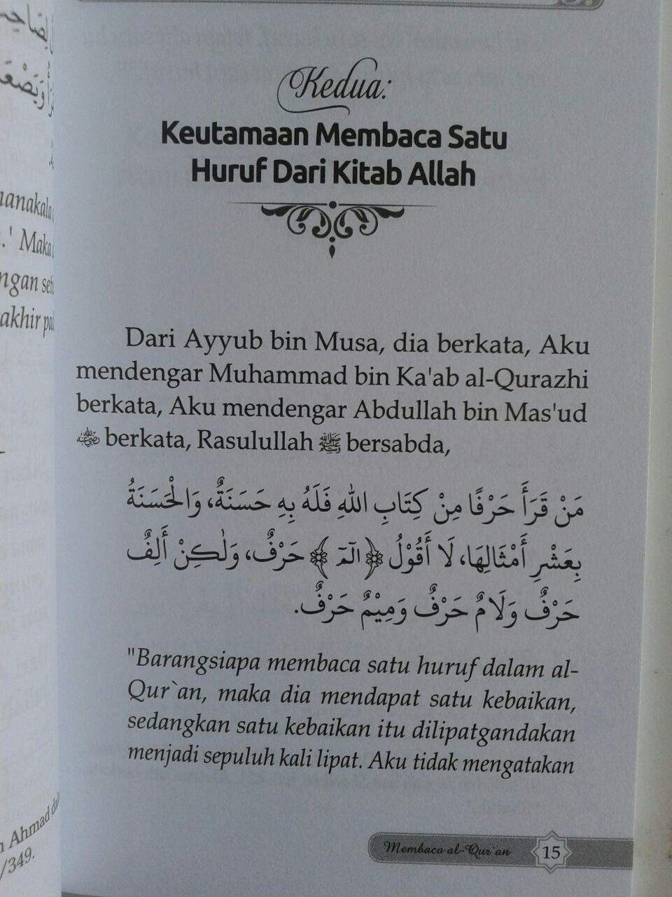 Buku Saku Keutamaan Dan Pahala Besar Membaca Al-Qur'an isi 2