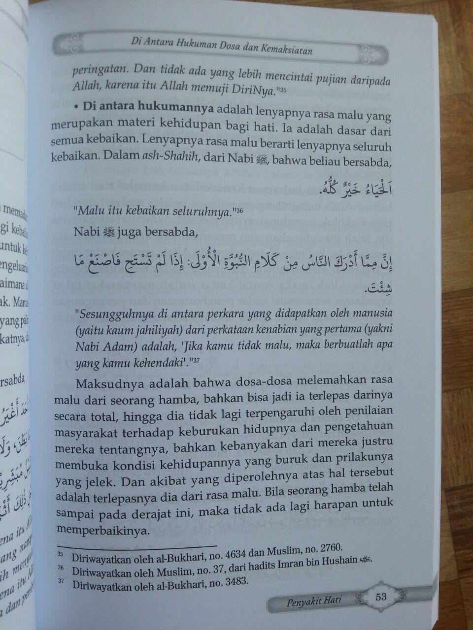 Buku Terapi Syar'i Mengobat Penyakit Hati isi 3