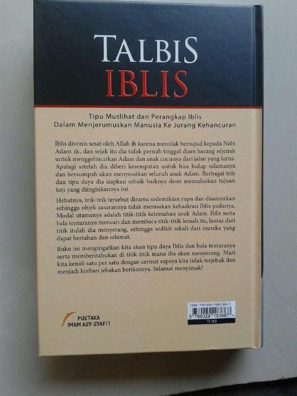 Buku Talbis Iblis Tipu Muslihat Perangkap Iblis cover 2