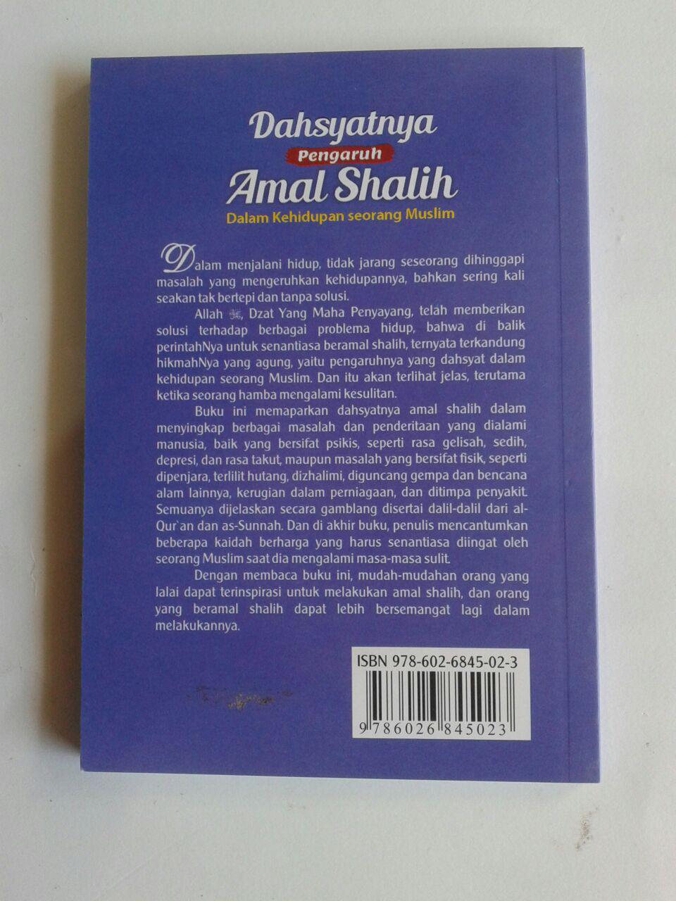 Buku Saku Dahsyatnya Pengaruh Amal Shalih Dalam Kehidupan cover