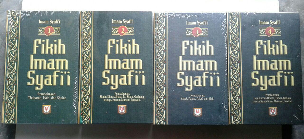 Buku Fikih Imam Syafi'i 1 Set 4 Jilid cover 2