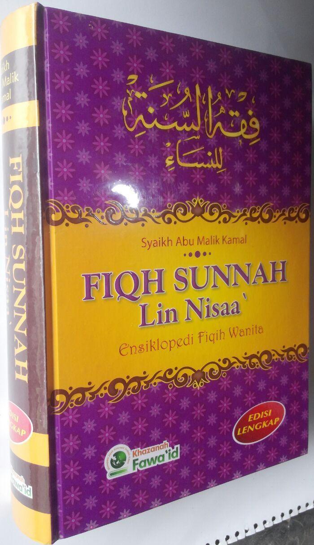 Buku Fiqh Sunnah Lin Nisaa Ensiklopedi Fiqih Wanita cover 3