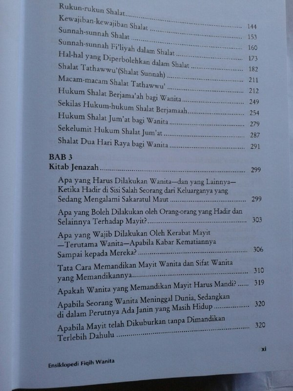Buku Fiqh Sunnah Lin Nisaa Ensiklopedi Fiqih Wanita isi 3