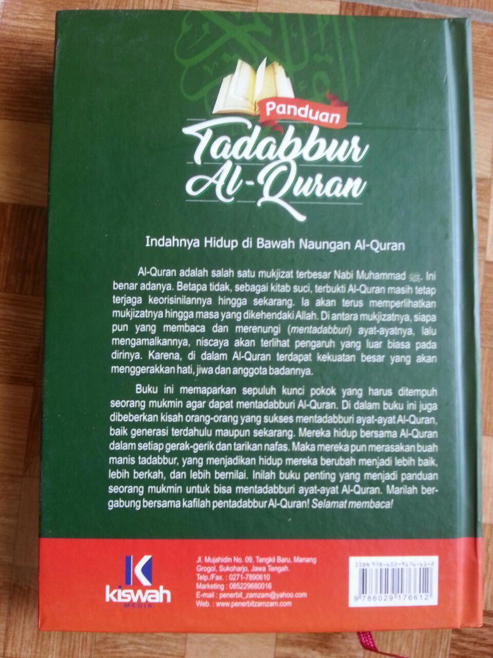 Buku Panduan Tadabbur Al-Quran cover