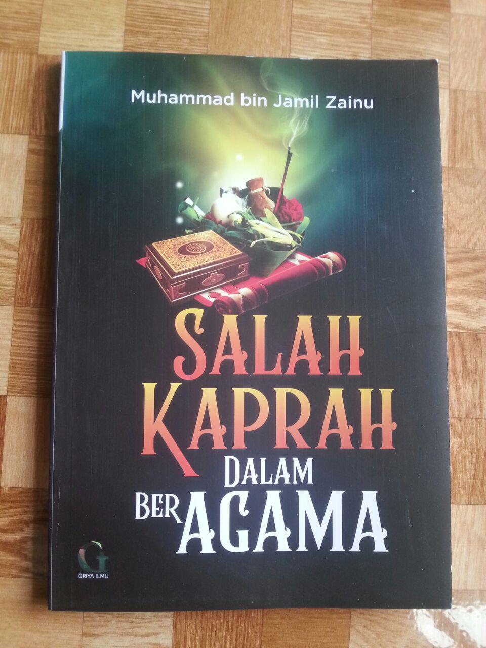 Buku Salah Kaprah Dalam Beragama cover 2