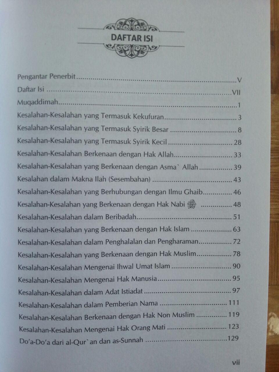 Buku Salah Kaprah Dalam Beragama isi 2