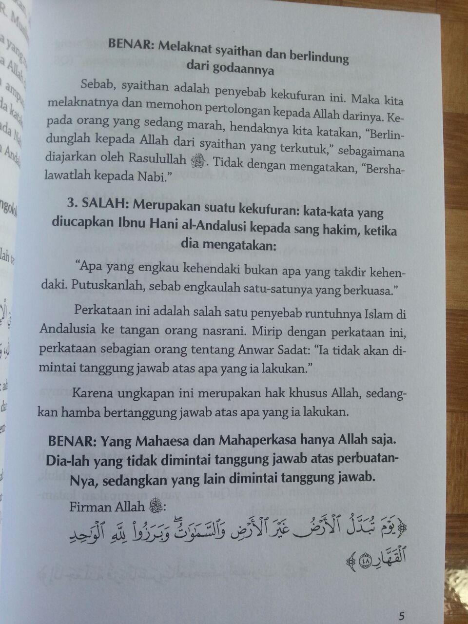 Buku Salah Kaprah Dalam Beragama isi 3