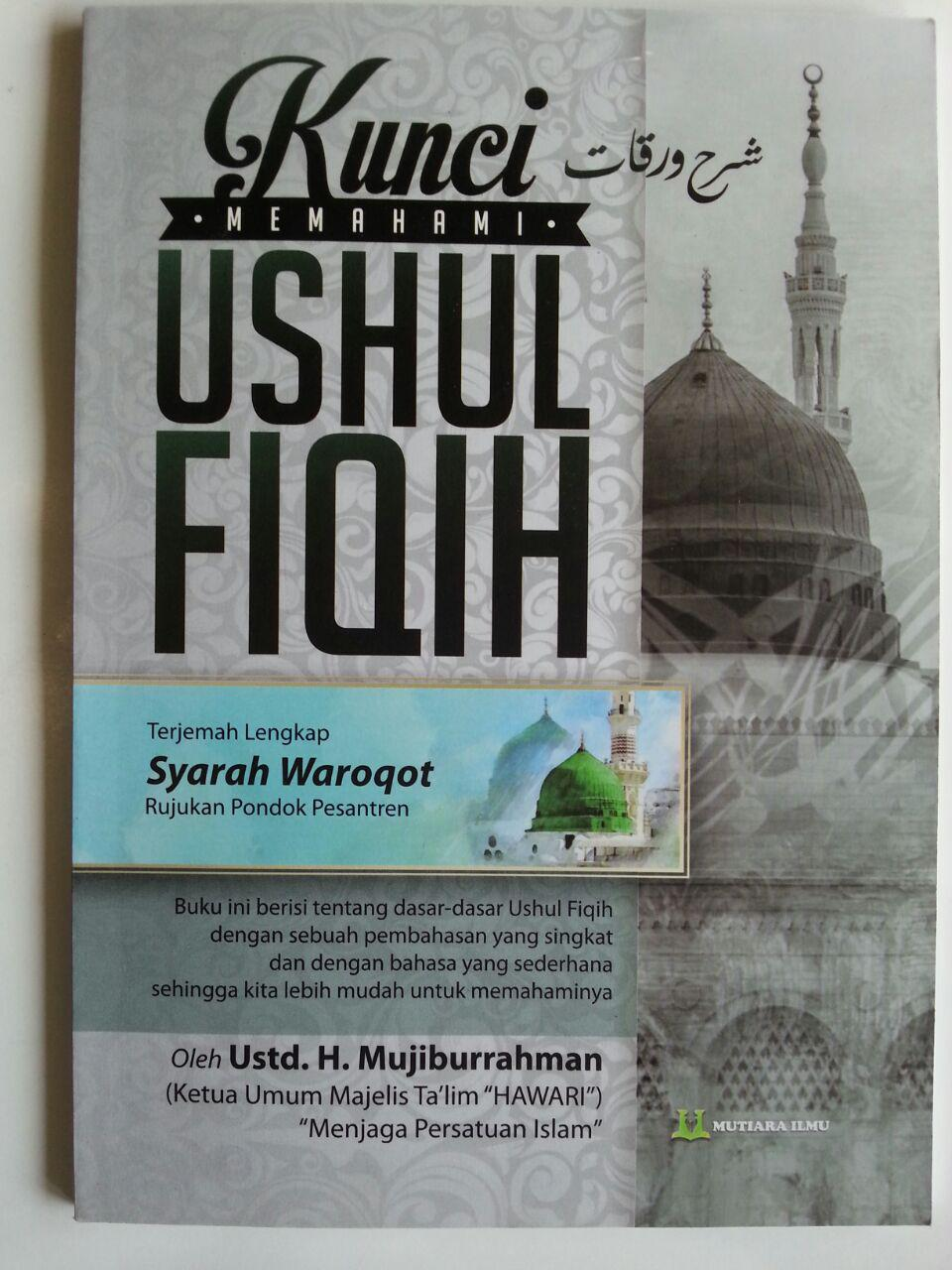 Buku Terjemah Syarah Waroqot Kunci Memahami Ushul Fiqh cover 2