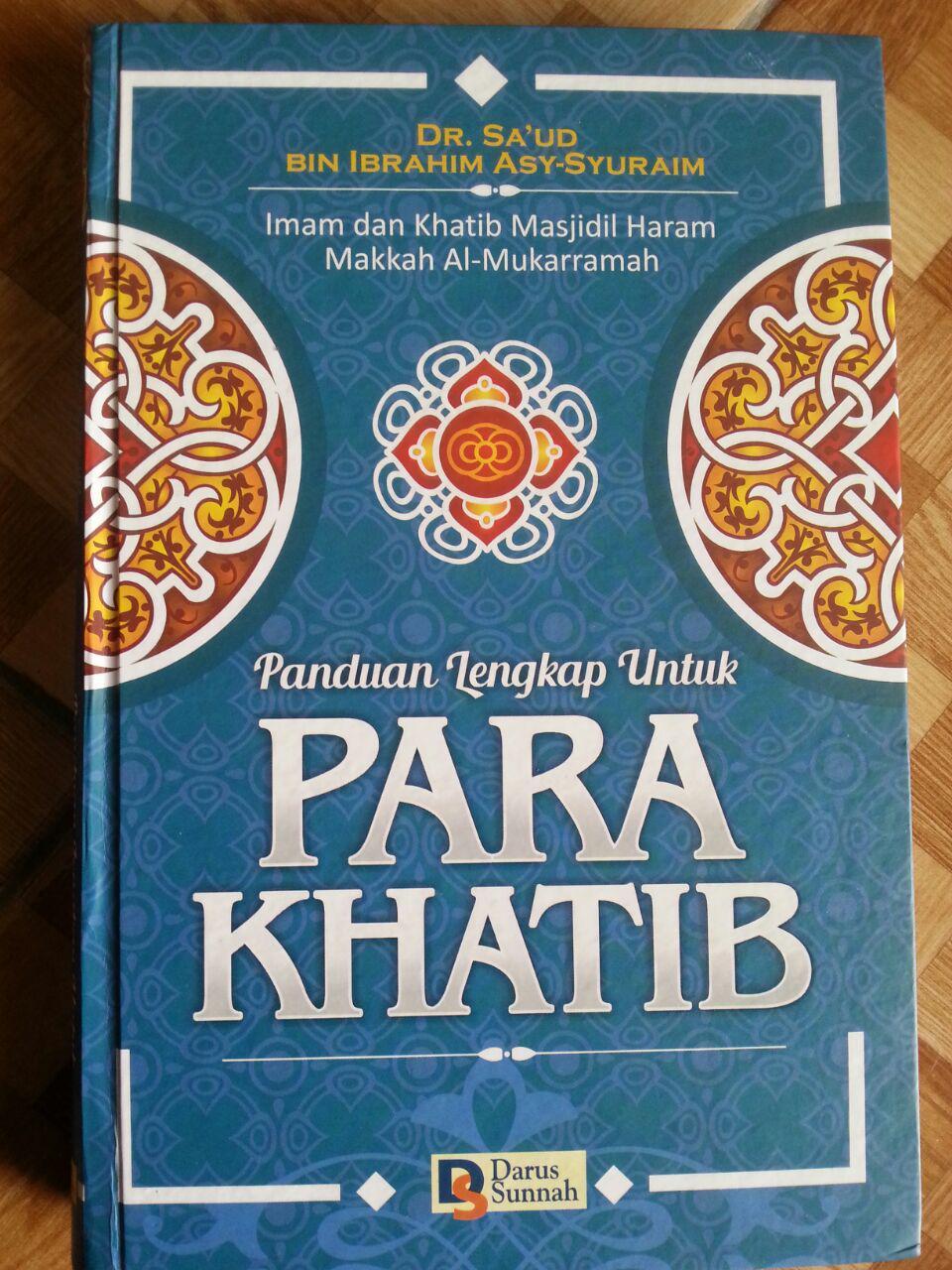 Buku Panduan Lengkap Untuk Para Khatib cover 2