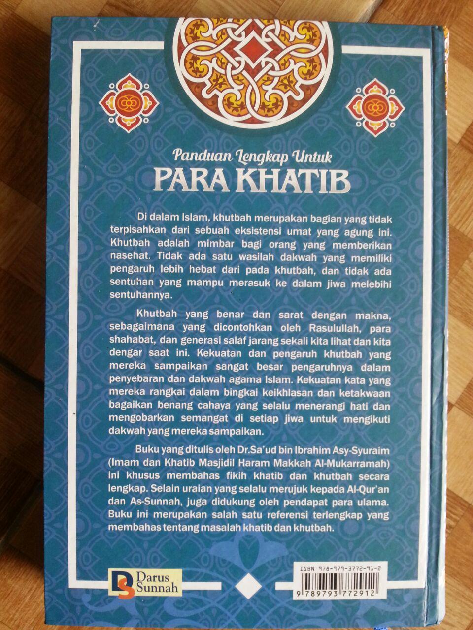 Buku Panduan Lengkap Untuk Para Khatib cover