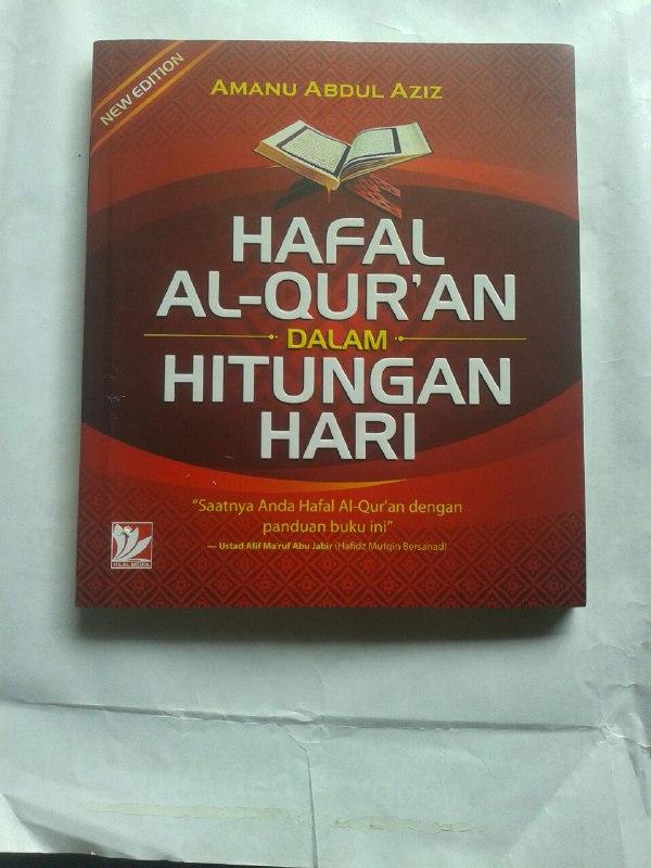 Buku Hafal Al-Qur'an Dalam Hitungan Hari cover