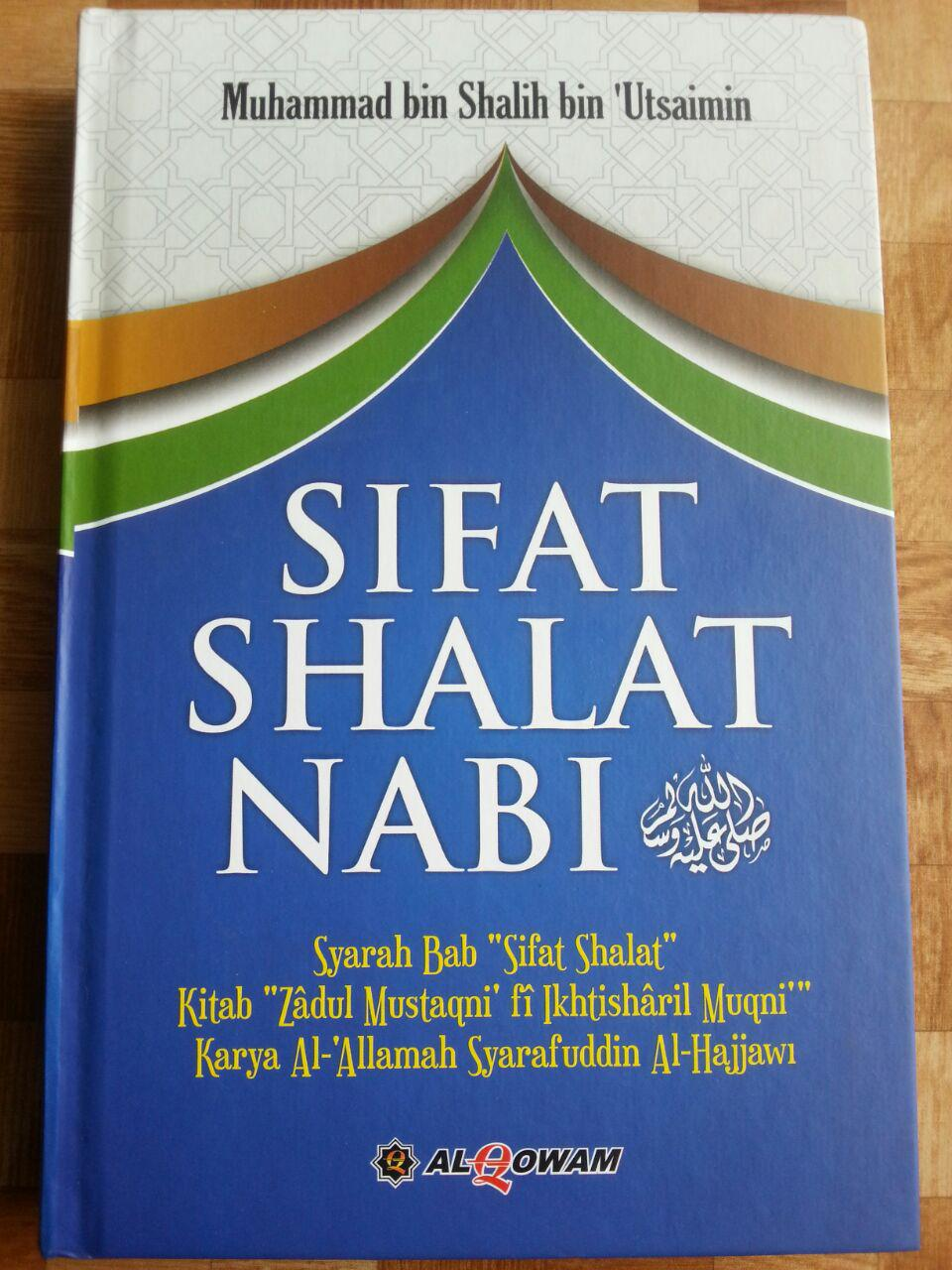 Buku Sifat Shalat Nabi Oleh Syaikh Utsaimin cover 2