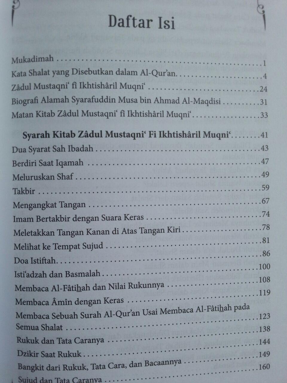 Buku Sifat Shalat Nabi Oleh Syaikh Utsaimin isi