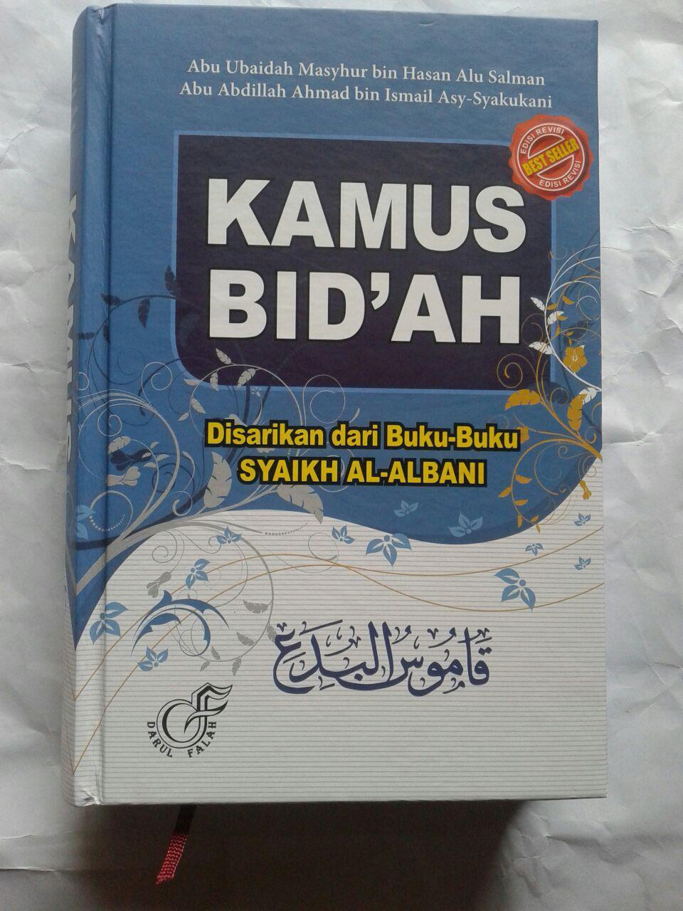 Buku Kamus Bid'ah Disarikan Dari Buku Buku Syaikh Al-Albani 240,000 20% 192,000 cover 2